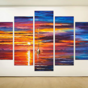 Ασύμμετρο Πεντάπτυχο – Ηλιοβασίλεμα