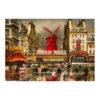 Πίνακας σε καμβά Moulin Rouge
