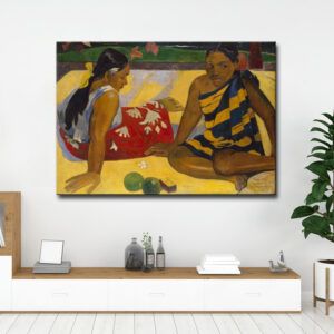 GAUGUIN – The Dom ΕΤΟΙΜΟΣ ΚΑΜΒΑΣ ΔΙΑΣΤΑΣΕΩΝ 100cm x 70cm ΤΕΛΑΡΩΜΕΝΟΣ ΜΕ ΚΑΝΟΝΙΚΟ ΤΕΛΑΡΟ ΜΕ ΦΙΝΙΡΙΣΜΑ ΠΛΑΙΝΗΣ ΕΚΤΥΠΩΣΗΣ