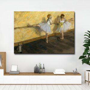 Πίνακας σε καμβά Μπαλαρίνες Ντεγκά