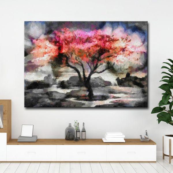 Πίνακας σε καμβά Δέντρο