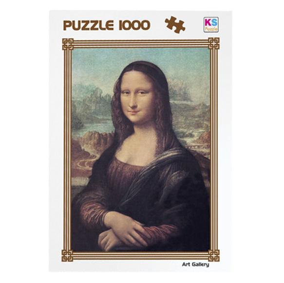 Παζλ 1000 Μόνα Λίζα