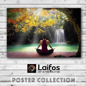 Αφίσα Γιόγκα Φύση