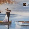 Πίνακας ζωγραφικής ερωτικός χορός κρεβατοκάμαρα