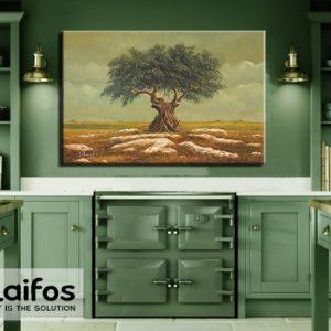 Πίνακας ζωγραφικής ελιά ελαιόδεντρο