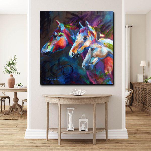Μοντέρνος Πίνακας Άλογά 2