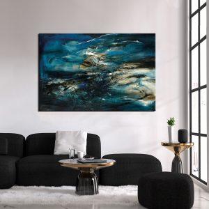 Μοντέρνος Πίνακας Abstract 16
