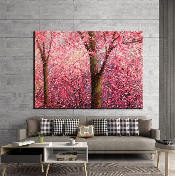 Πίνακας σε καμβά - blossom