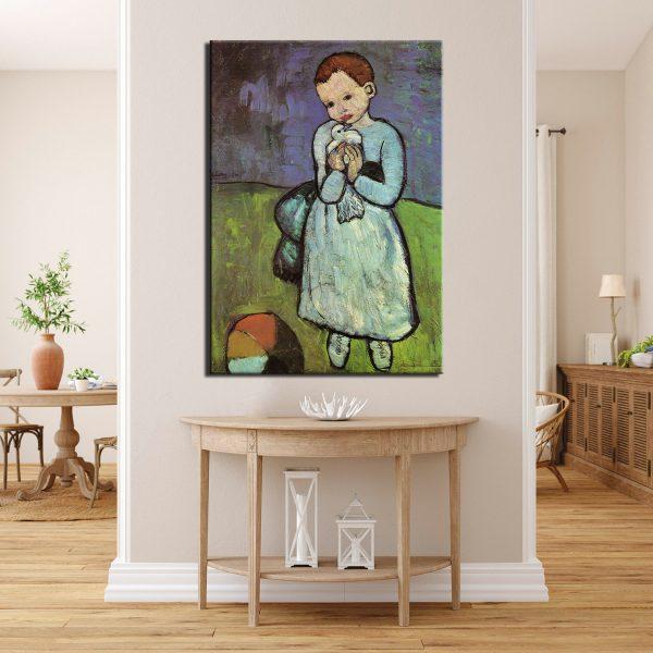 Πικάσο- Το παιδί με το Περιστέρι