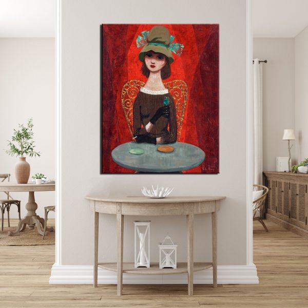 Πίνακας At The Café