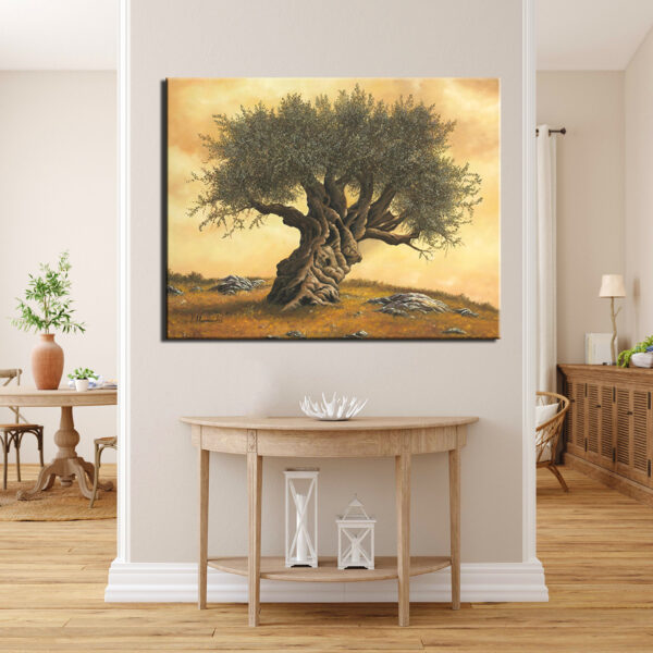 πίνακας ζωγραφικής ελαιόδεντρο 2