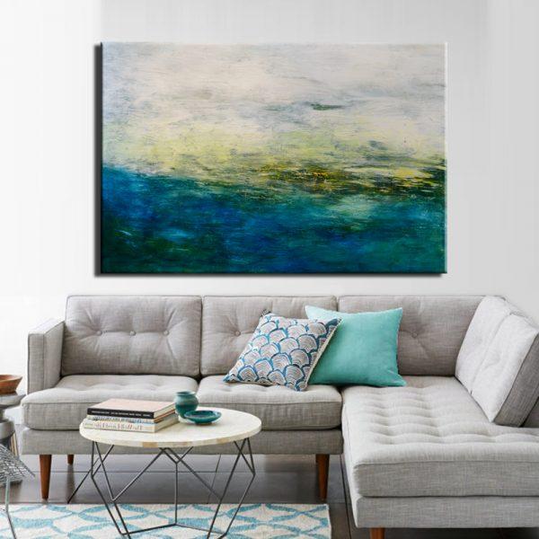 Μοντέρνος Πίνακας Abstract 9