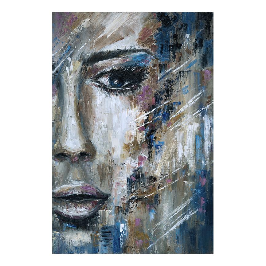 Αφηρημένος Πίνακας  σε καμβά- Γυναίκα