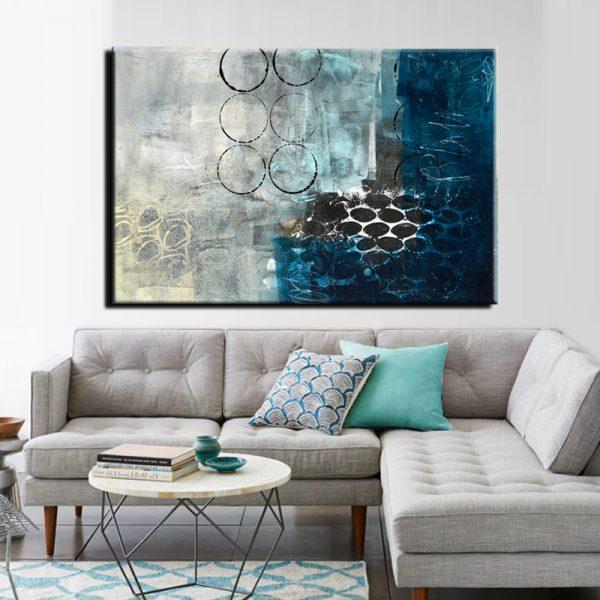 Μοντέρνος Πίνακας Abstract 15
