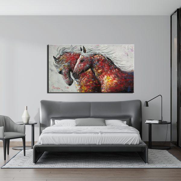 Ζωγραφικός Πίνακας – Άλογα