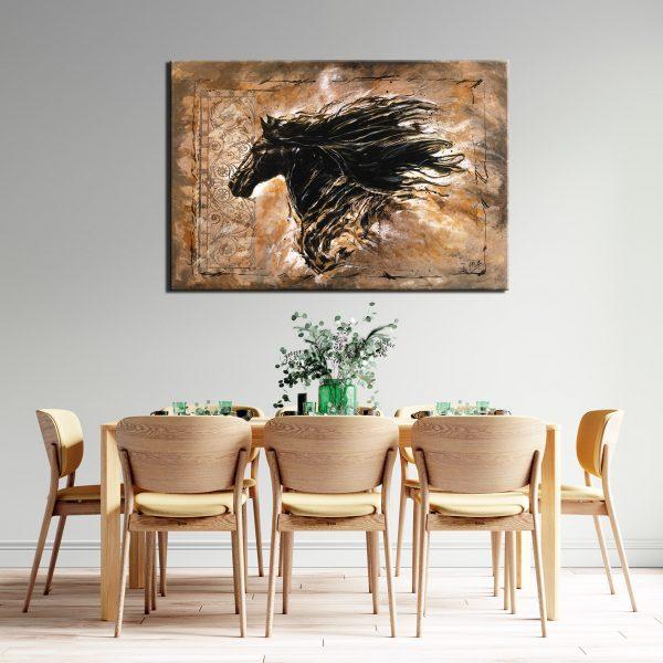 Πίνακας Μαύρο Άλογο