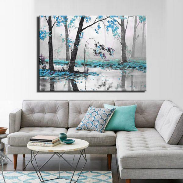 Μοντέρνος Πίνακας Abstract 10