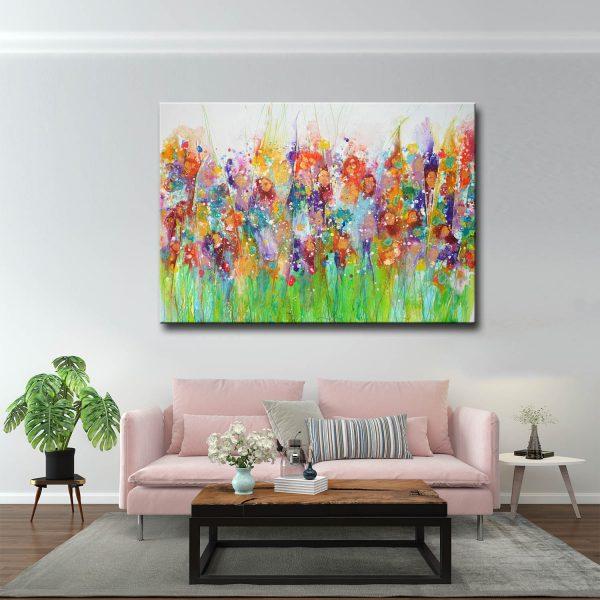 Πίνακας Flowers Abstract