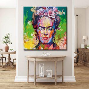 Πίνακας σε καμβά Frida