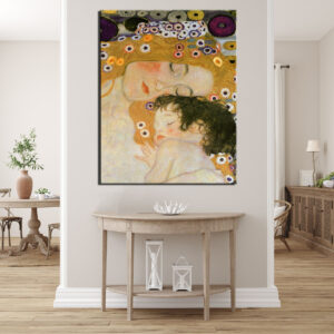 Πίνακας Klimt - Μητέρα με παιδί