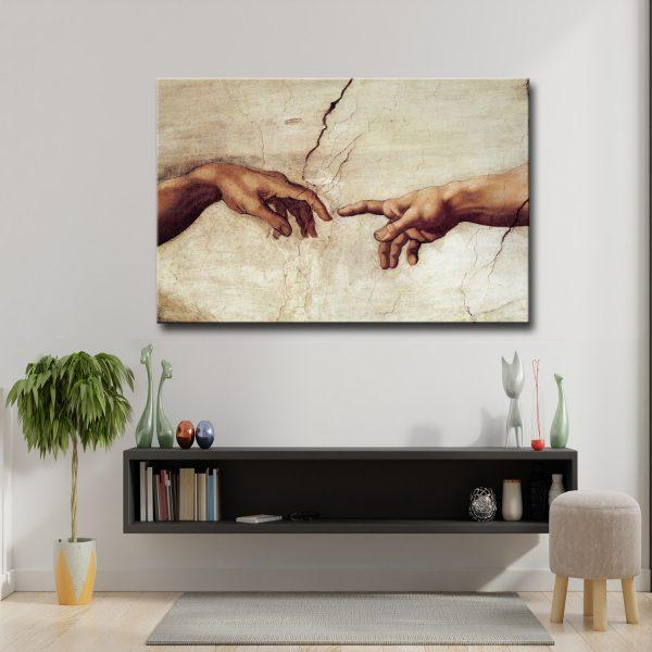 Πίνακας σε καμβά Δημιουργία