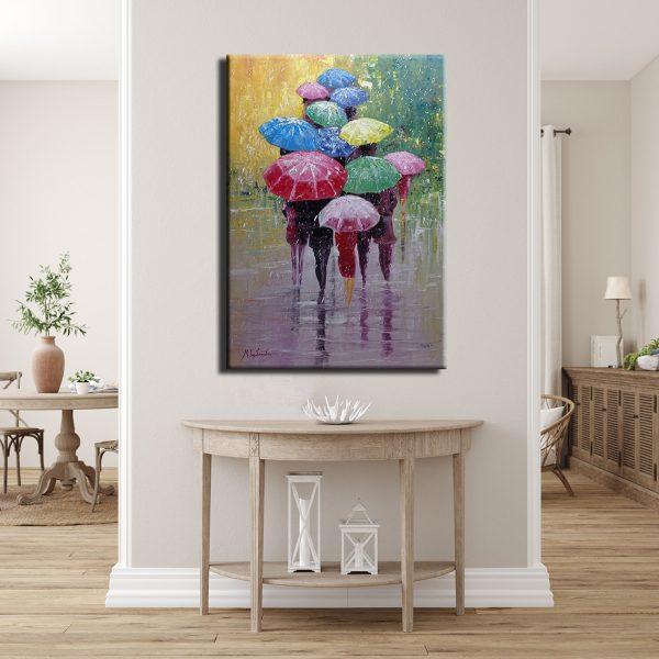Πίνακας Πολύχρωμες Ομπρέλες