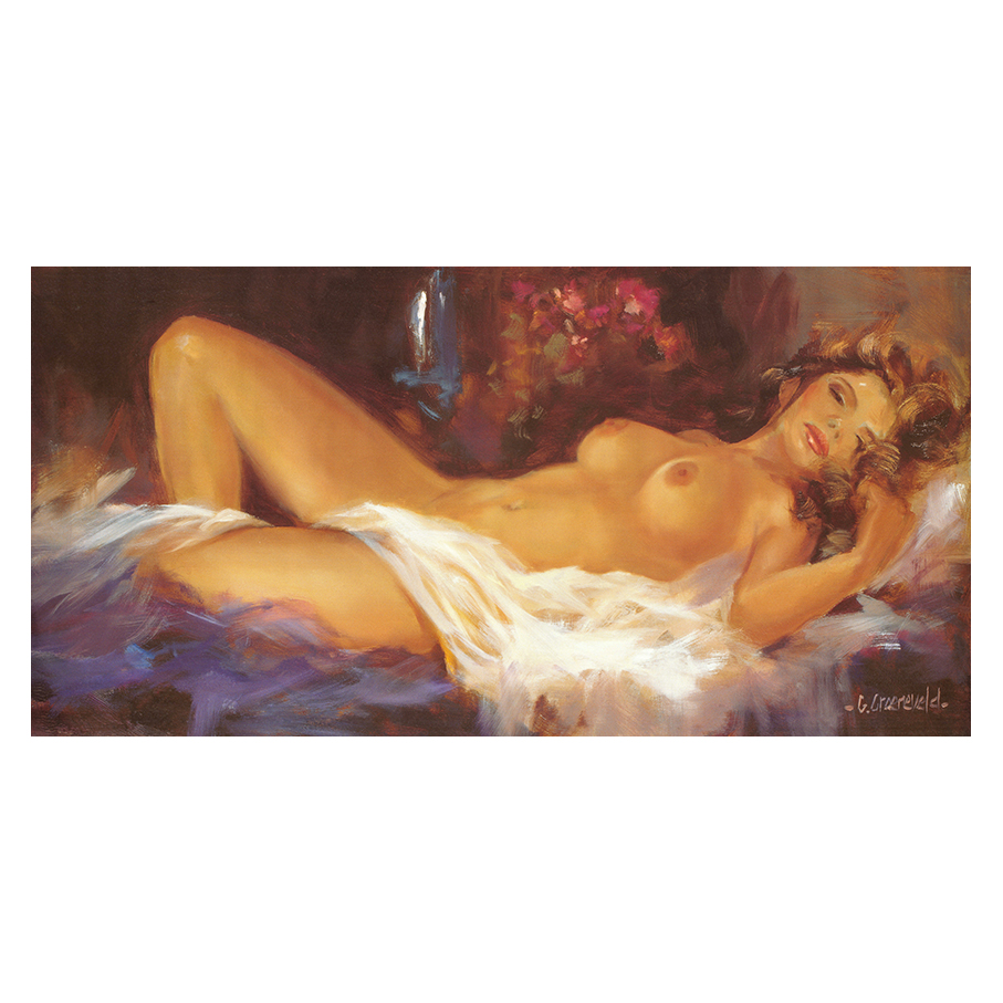 καμβάς γυναικείο γυμνό