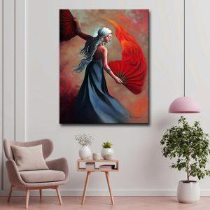 Πίνακας ζωγραφικής Βεντάλιες