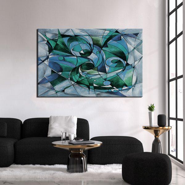 Μοντέρνος Πίνακας Abstract 32
