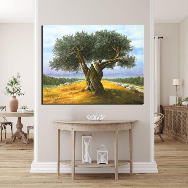 Πίνακας ζωγραφικής ελαιόδεντρο 3