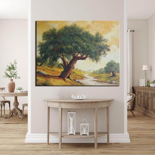 Πίνακας ζωγραφικής ελαιόδεντρο 4