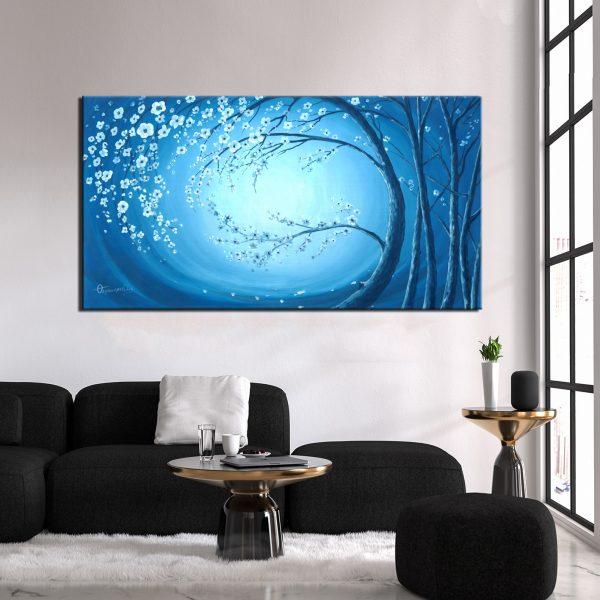 Πίνακας Μπλε Νύχτα