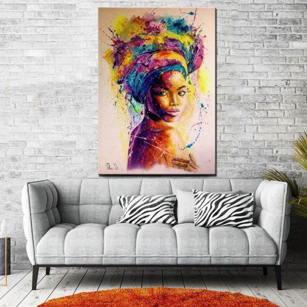 Πίνακας Abstract Woman