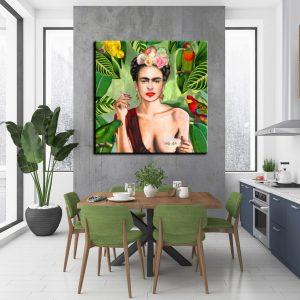 Πίνακας σε καμβά Frida K