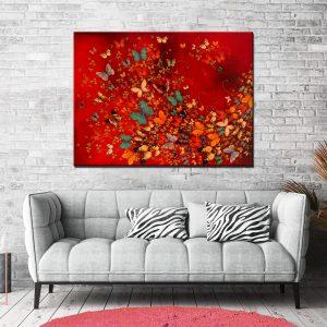 Μοντέρνος Πίνακας Πεταλούδες