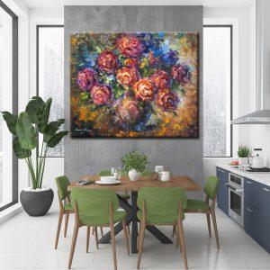 Πίνακας λουλούδια σε βάζο