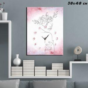 Ρολόι Line Art 2