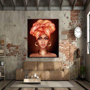 Πίνακας African Beauty