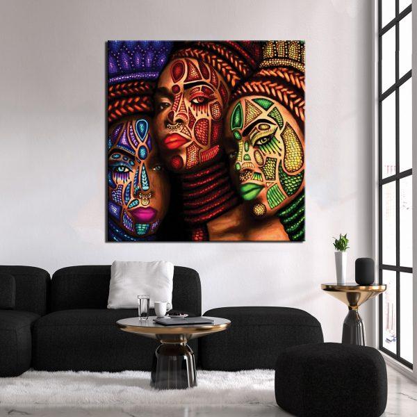 Πίνακας σε καμβά African W2