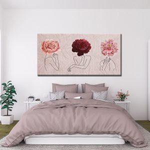 Πίνακας Line and Flowers