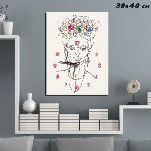 Ρολόι Line art Frida