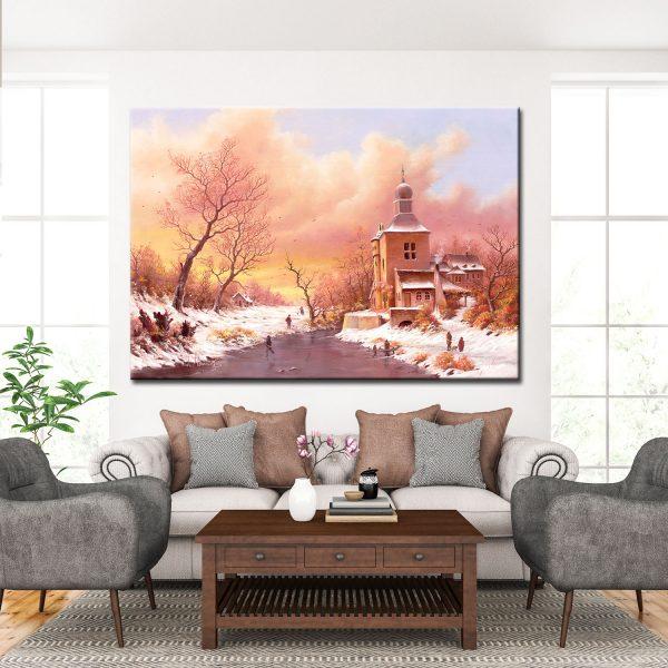 Πίνακας ζωγραφικής-Χειμώνας