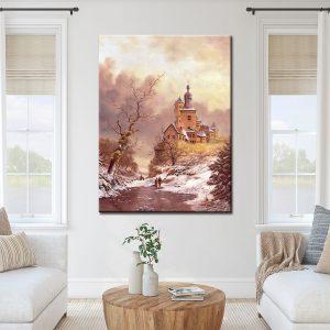 Πίνακας ζωγραφικής-Χειμώνας 2