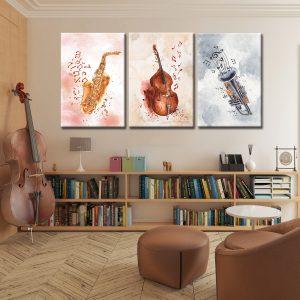 Τρίπτυχο Music Art 2