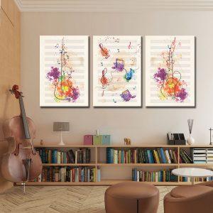 Τρίπτυχο Music Art 1