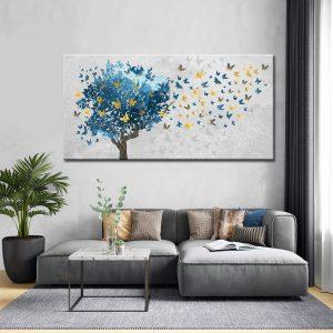 Πίνακας Tree And Butterflies