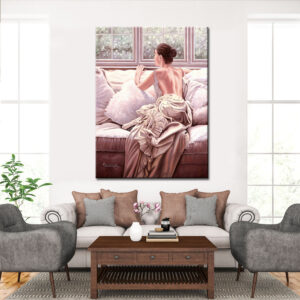 Πίνακας Γυναίκα στο Παράθυρο